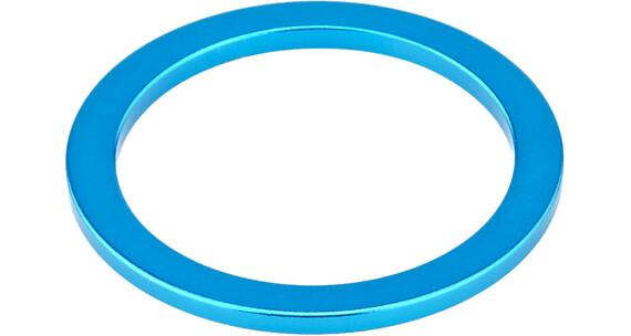 """KCNC Headset Spacer 1 1/8"""" 2mm Blå"""